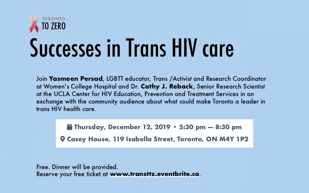 Trans Health and HIV